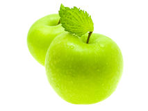 Green apple. Royalty Free Stock Image