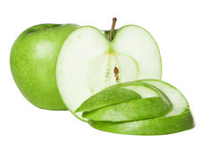 Free Green Apple Royalty Free Stock Photo - 27412705