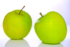 Green apple. S royalty free stock image