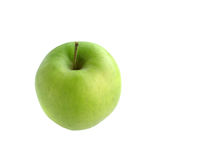 Green Apple. Isolated green aple Royalty Free Stock Photo