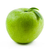 Green apple. Isolated on white Royalty Free Stock Images