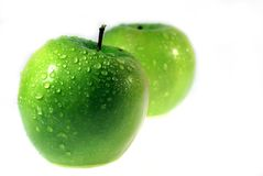 Green Apple 7 royalty free stock photo