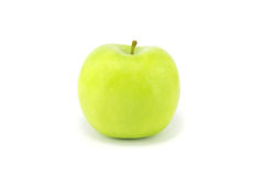 Green apple. On white background Stock Image