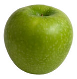 Green apple. Close-up for diet Stock Images