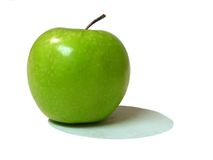 Green apple. Granny smith apple Royalty Free Stock Image
