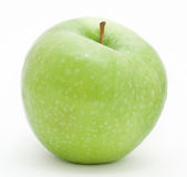 Green apple. A green granny smith apple royalty free stock photography