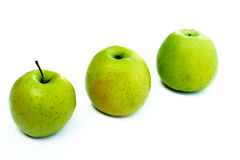 Green apple. Green apples - healthy food for healthy life royalty free stock images