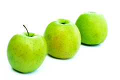 Green apple. Green apples - healthy food for healthy life royalty free stock photography