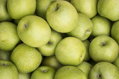 Green apple background Royalty Free Stock Photography