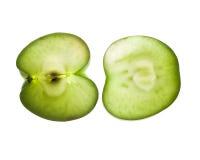 green apple in backlight Stock Photo