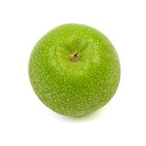 Green apple. Big ripe green apple isolated on white background Royalty Free Stock Images