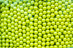 Green Apple Candy Drops Stock Images