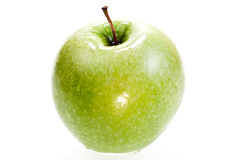 Green apple close up Royalty Free Stock Images