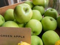 Green apple Royalty Free Stock Photo