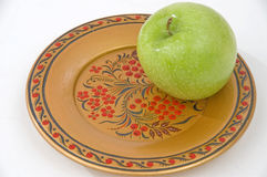 Green apple. Stock Images