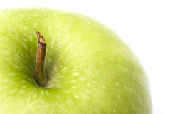 Green apple detail Stock Photos