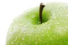 Green apple detail Stock Photography