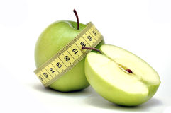 Green Apple Diet Stock Photos