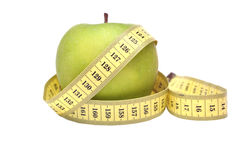 Green Apple Diet Royalty Free Stock Images