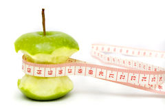 Green Apple Diet Royalty Free Stock Photos