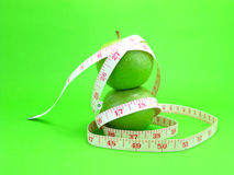 Green apple for diet Stock Photography