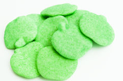 Green Apple Gummies Royalty Free Stock Photo
