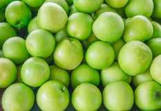 Green apple heap Royalty Free Stock Photography