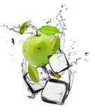 Ice fruit Stock Photo