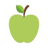 Green apple icon Royalty Free Stock Photos