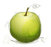 Green Apple Illustration Royalty Free Stock Photography
