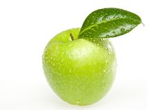 Green apple isolate Royalty Free Stock Photo