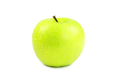 Green apple. On isolate background Royalty Free Stock Images