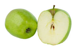 Green apple isolated Royalty Free Stock Photo