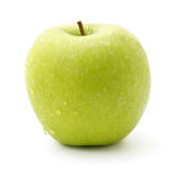Green apple isolated on white Stock Images