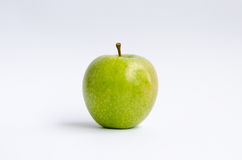 Green Apple. Isolated on white Royalty Free Stock Photography