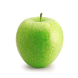 Green apple isolated on white Stock Photos