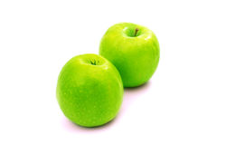 Green apple isolated Stock Image