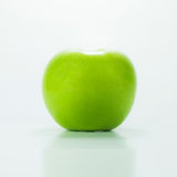 Green apple, isolated on white Royalty Free Stock Images