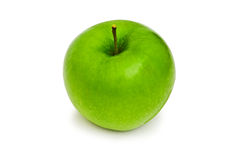 Green apple isolated  on the white background Royalty Free Stock Images
