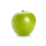 Green apple isolated on white background Royalty Free Stock Photography