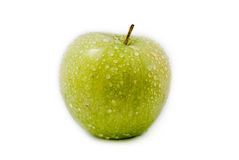 Green apple isolated on white background Royalty Free Stock Image