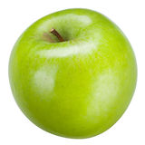 Green apple Isolated on white. With clipping path Stock Photo