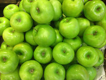 The green apple in market Stock Photos