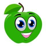 Green Apple Mascot vector illustration