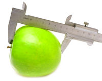 Free Green Apple Measured Stock Image - 15465821