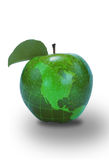 Green Apple North America Map Stock Images