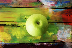 Green apple photo Royalty Free Stock Image
