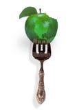 Green apple planet. Stock Image