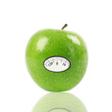 Green Apple With Scale Royalty Free Stock Photo