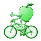 Green apple sport Royalty Free Stock Photos